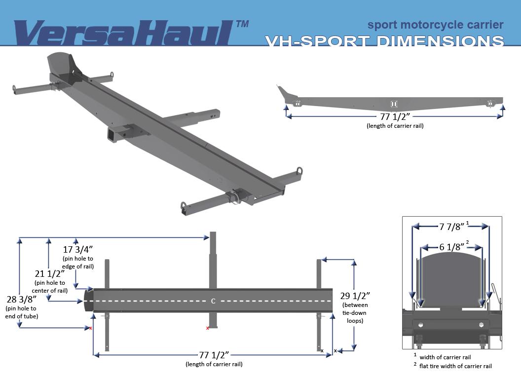For Sale Versahaul Hitch Carrier Rokon 19958 1